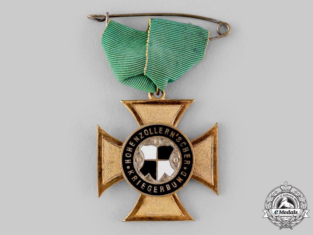 Germany, Weimar Republic. A Hohenzollern Veterans Association Membership Badge