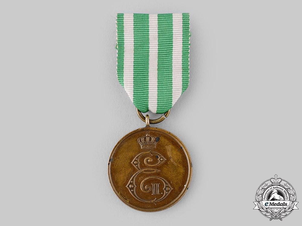 Saxe-Altenburg, Duchy. A 1915 Bravery Medal in Bronze