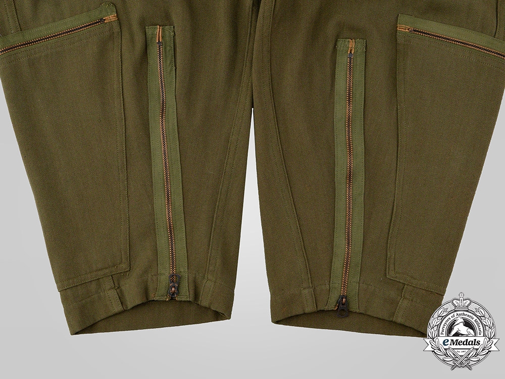 United States. A United States Army Air Forces (USAAF) L-1 Flight Suit by S.J. Campbell Company