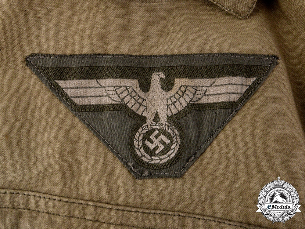 Germany, Heer. A Panzer Protective Overall, 8th Panzer Regiment, by Otto Knoll