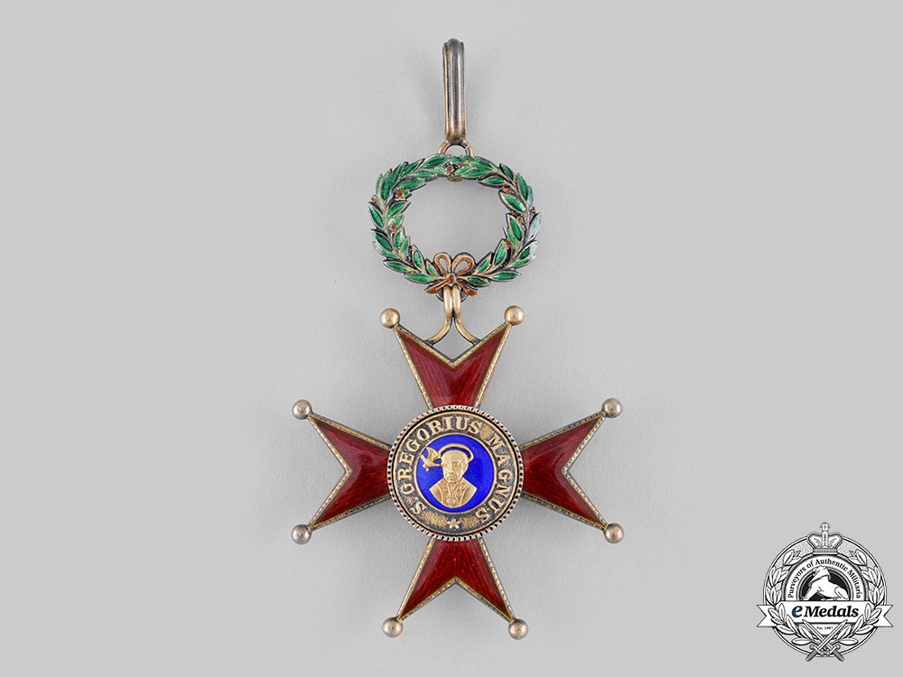 Vatican. An Order of St.Gregory the Great, Grand Cross, Civil Division, c.1920