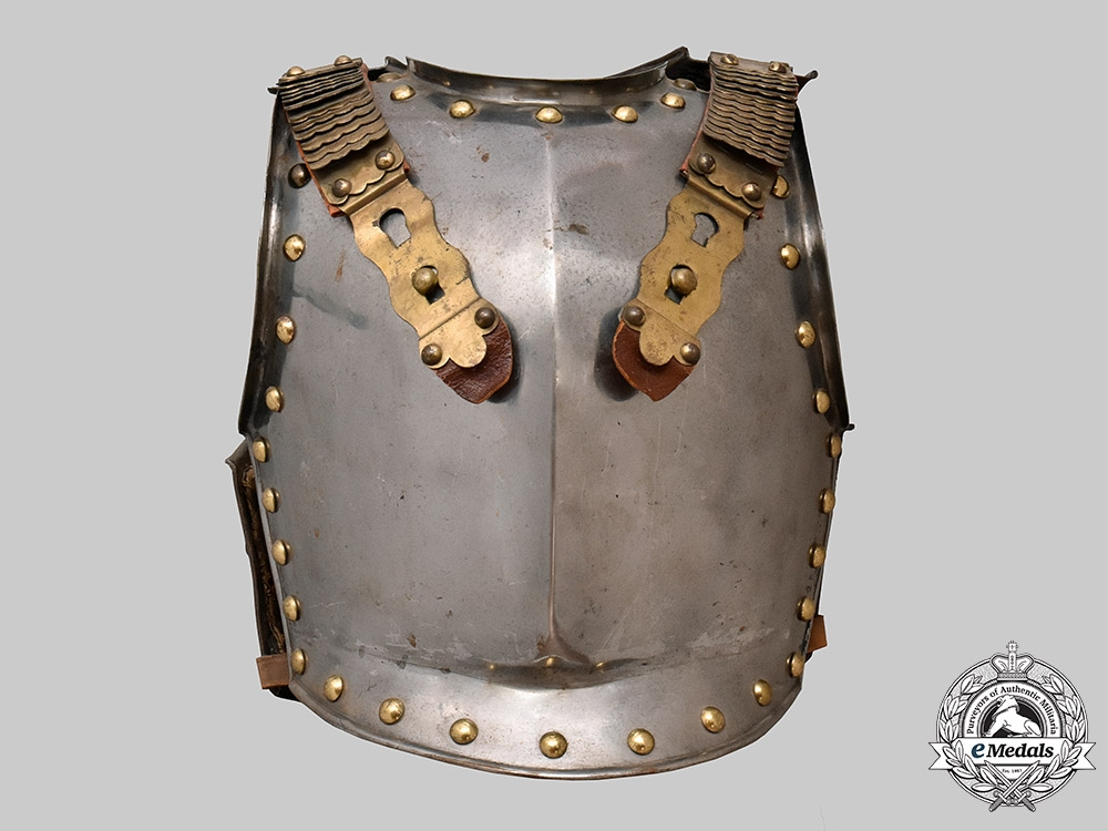 Germany, Prussia. A Cuirassier Regimental Body Armour, c.1875