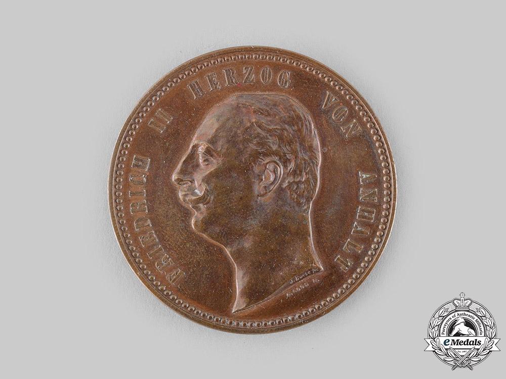 Anhalt, Duchy. A Duke Friedrich II Merit Medallion