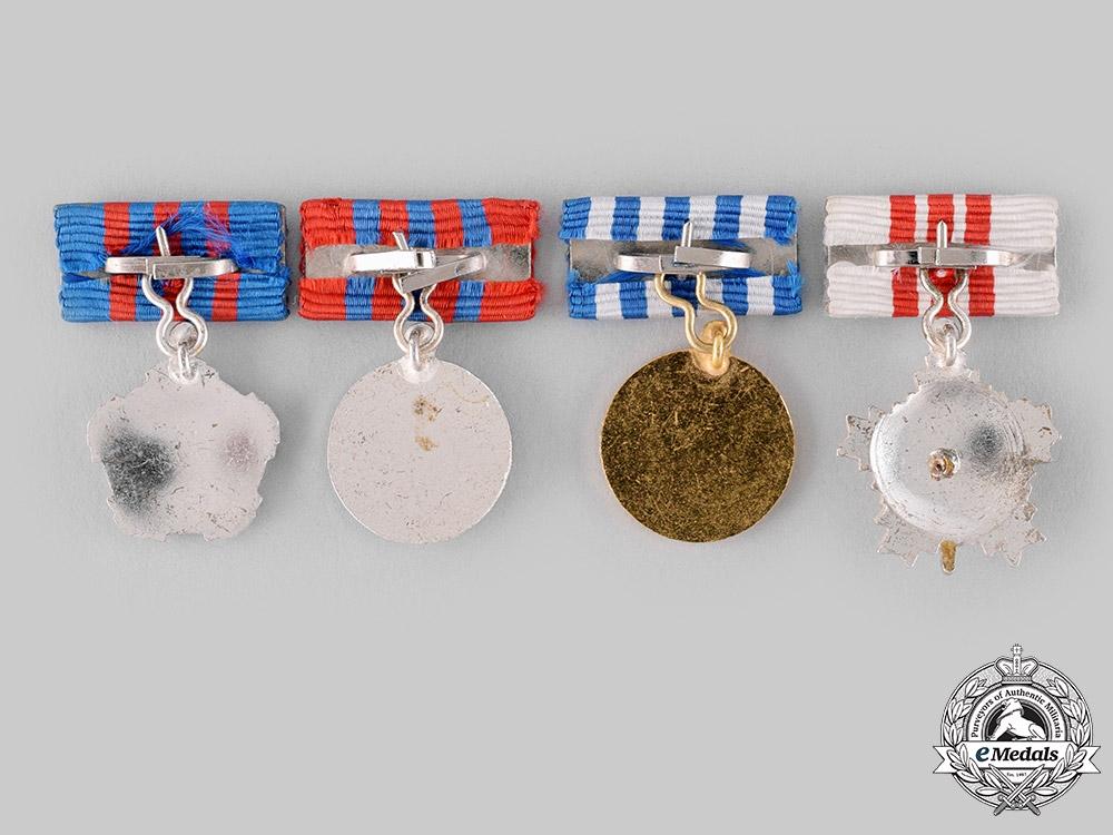 Yugoslavia, Socialist Federal Republic. Four Miniature Awards