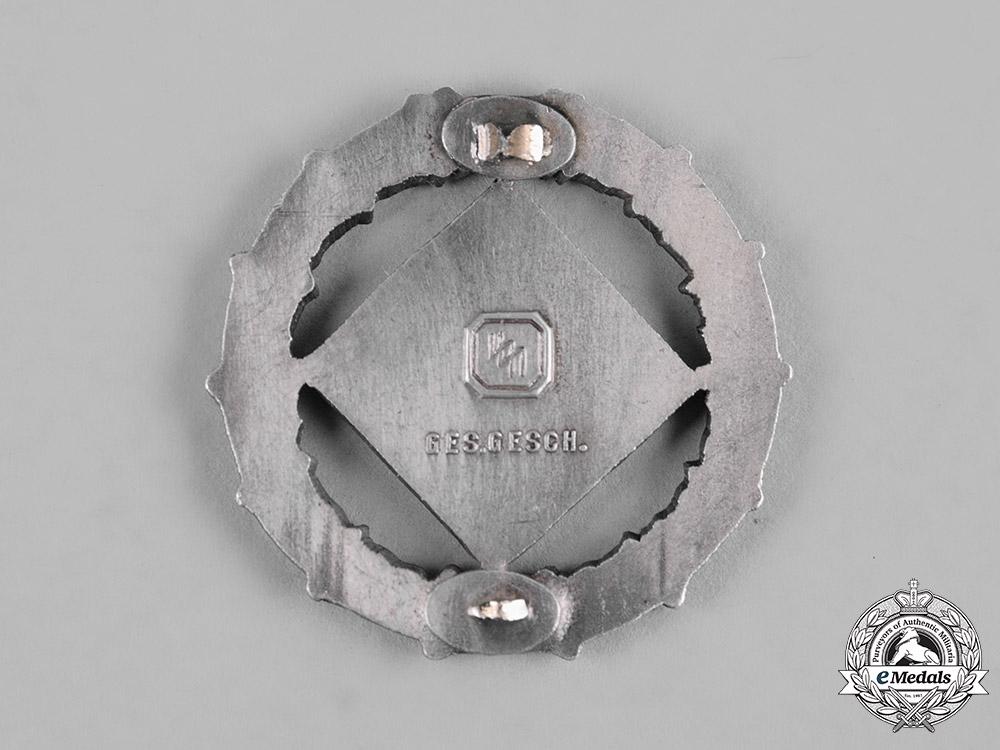 Germany, SS. A Waffen-SS Marksmanship Badge, II Class