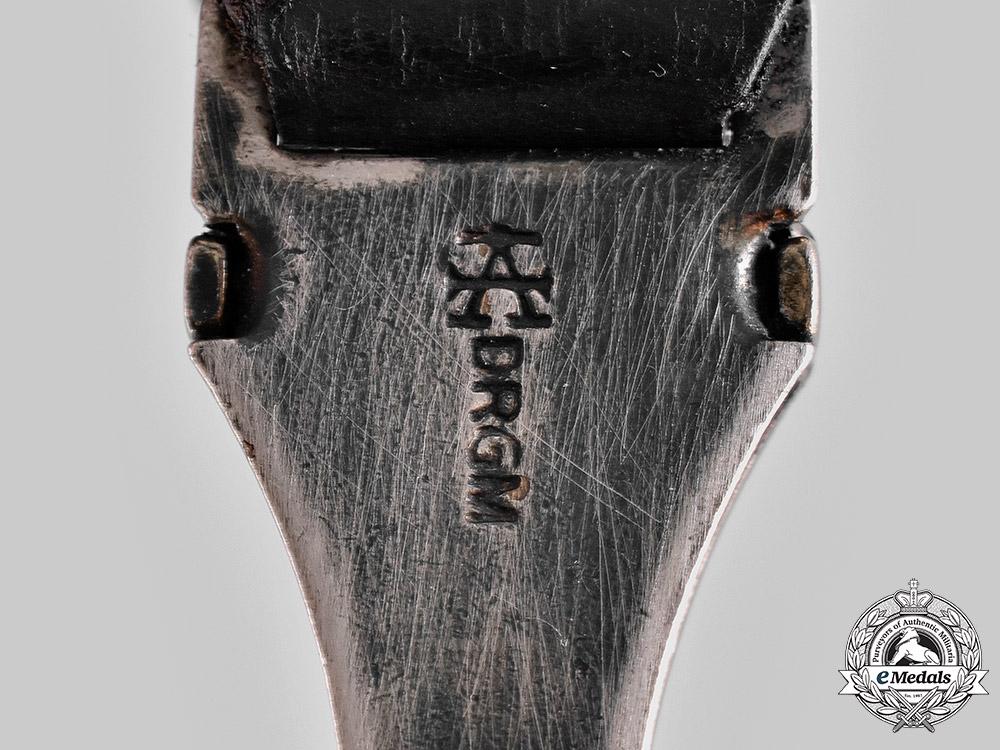 Germany, SS. A SS Dagger Hanger by F.W. Assmann & Söhne