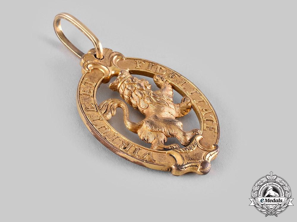 Hesse-Kassel, Landgraviate. An Order of the Golden Lion, Grand Cross, 1772, Published