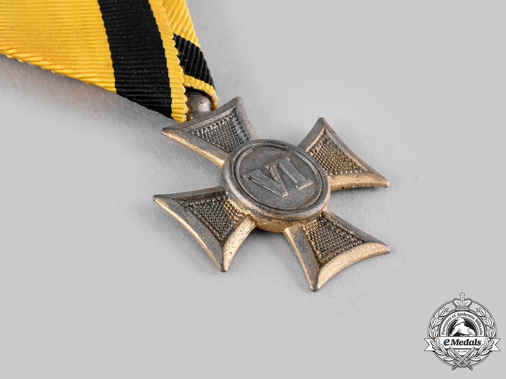 Austria, Imperial. A Lot of Three Long Military Service Crosses (Collectors Copies)