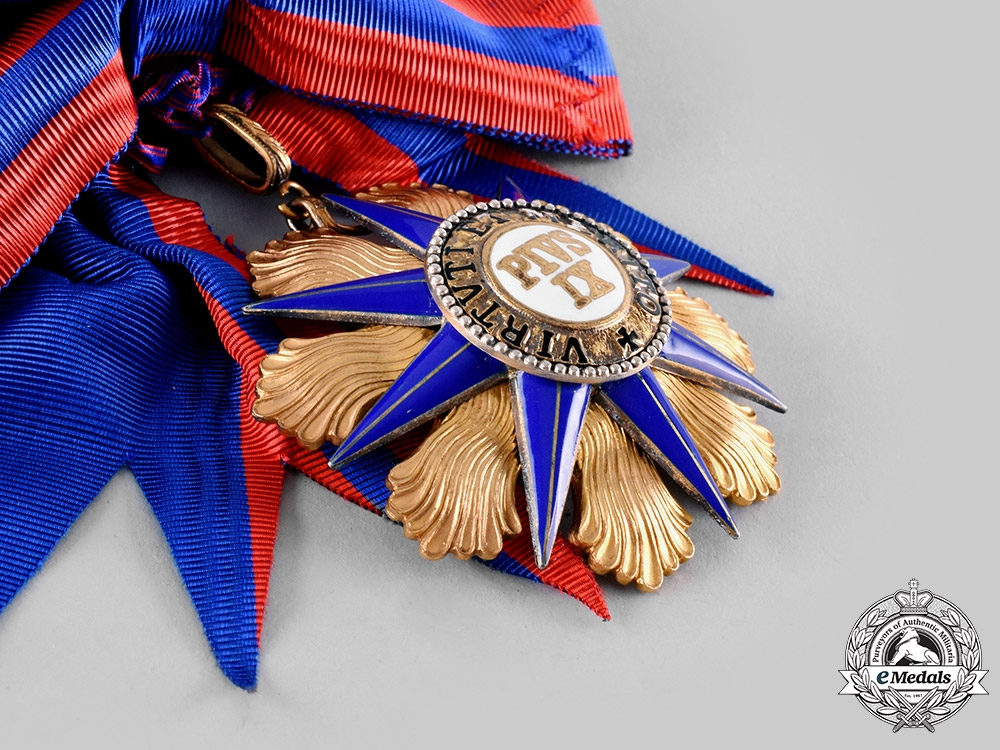 Vatican, Papel States. An Order of Pope Pius IX, Grand Cross, by A.Casazza, c.1910