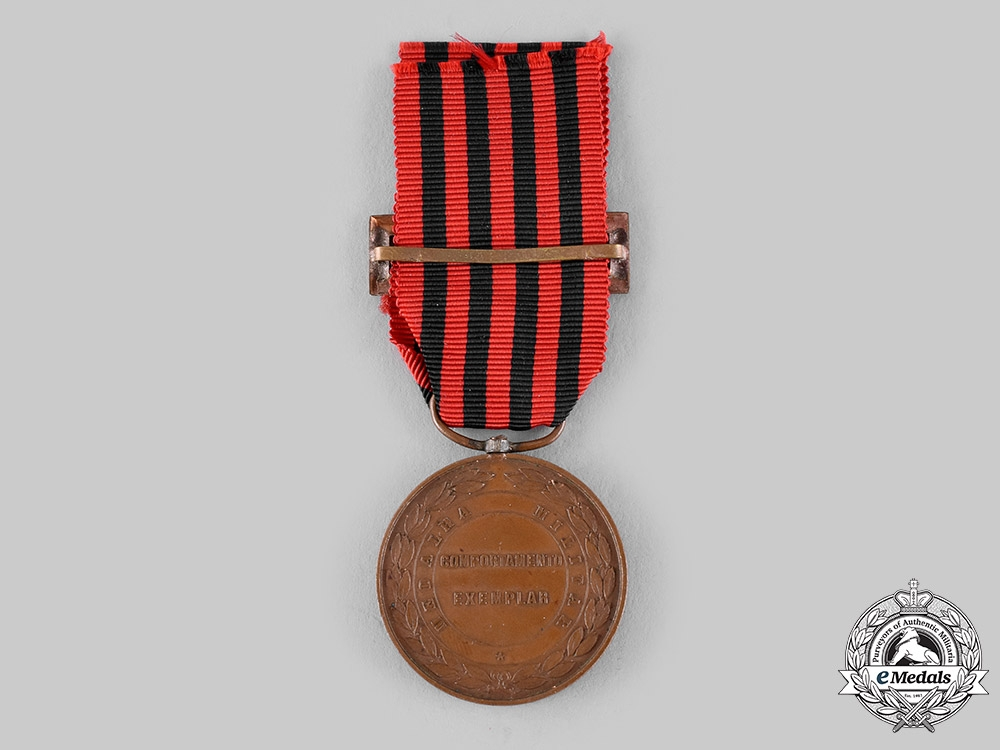 Portugal, Republic. An Exemplary Conduct Bronze Medal, by Sergio c.1910