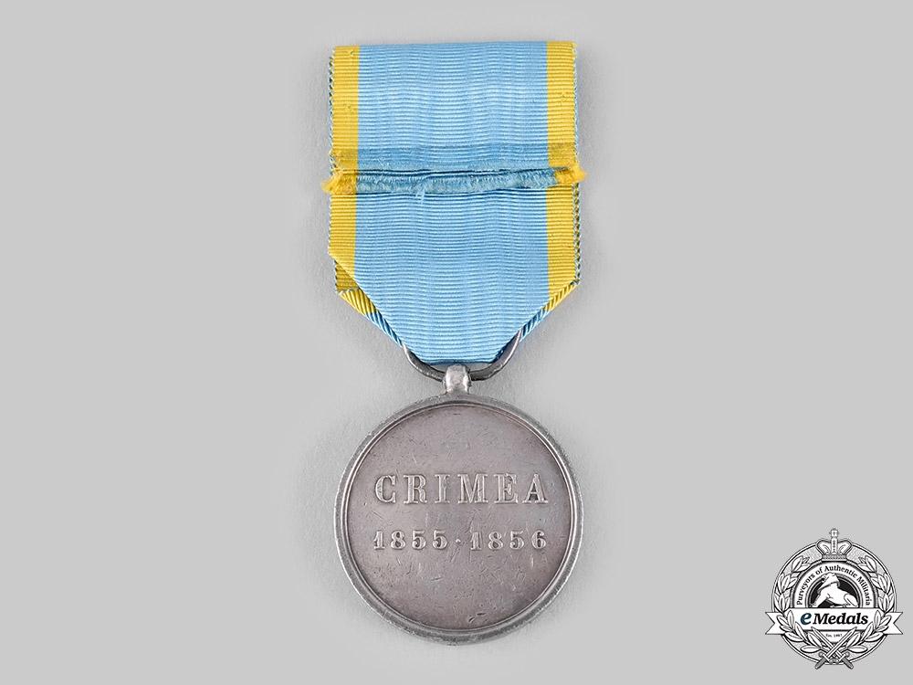 Italy States, Sardinia. A Campaign Crimean War Medal by Ferrarris c.1856