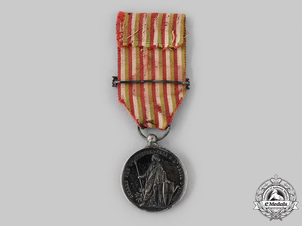 Italy, Kingdom. A Medal for the Wars of Independence and the Unity of Italy, by Canzani, c.1866