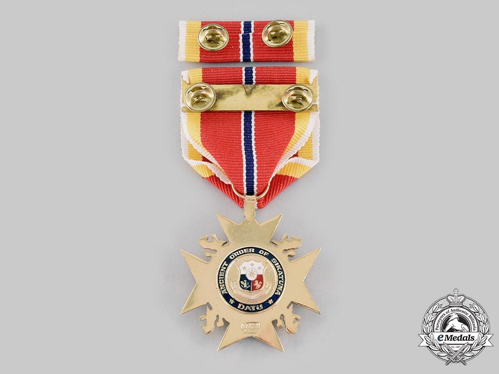 Philippines, Republic. An Ancient Order of Sikatuna, Grand Cross (Datu) Breast Badge