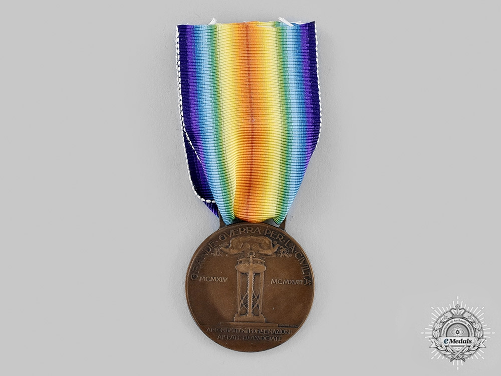 A First War Italian Victory Medal