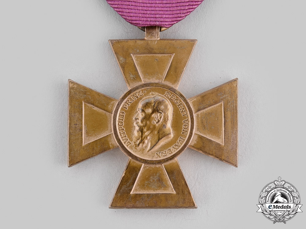 Bavaria, Kingdom. A Luitpold Cross for Forty Years of State and Public Service, c. 1911
