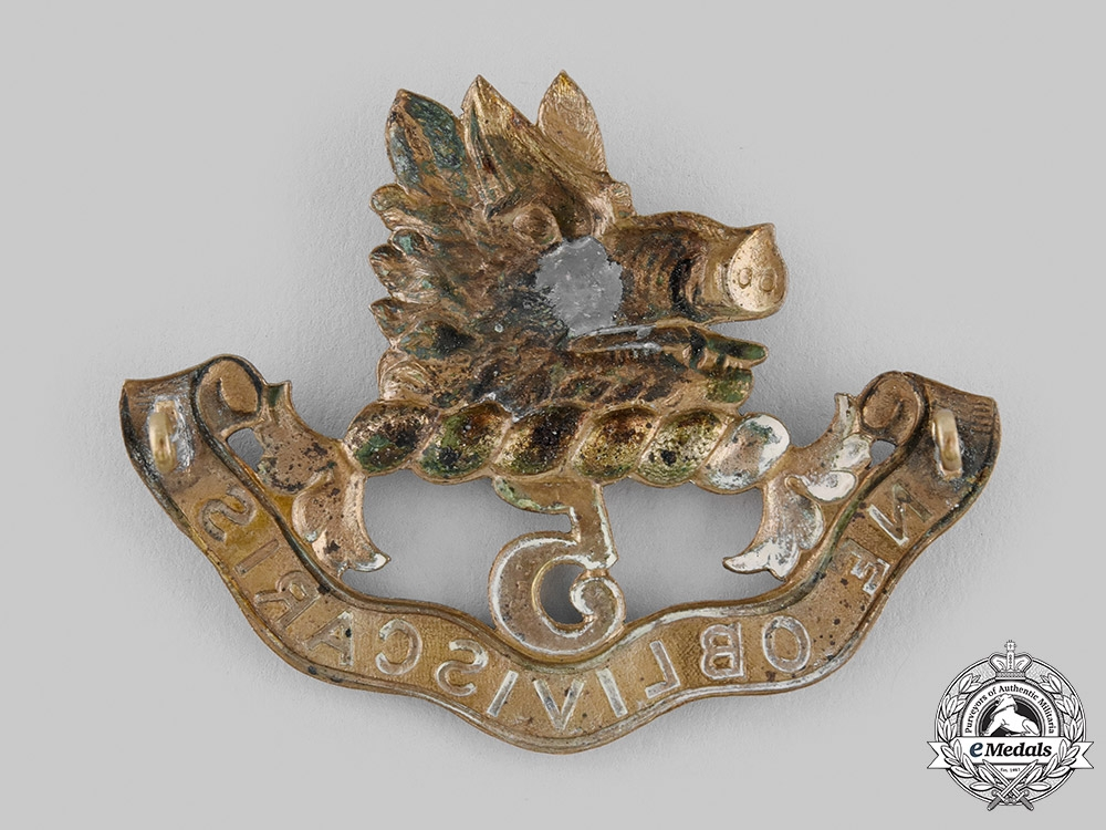 Canada, Dominion. A 5th Regiment Royal Scots of Canada Glengarry Badge, c.1902