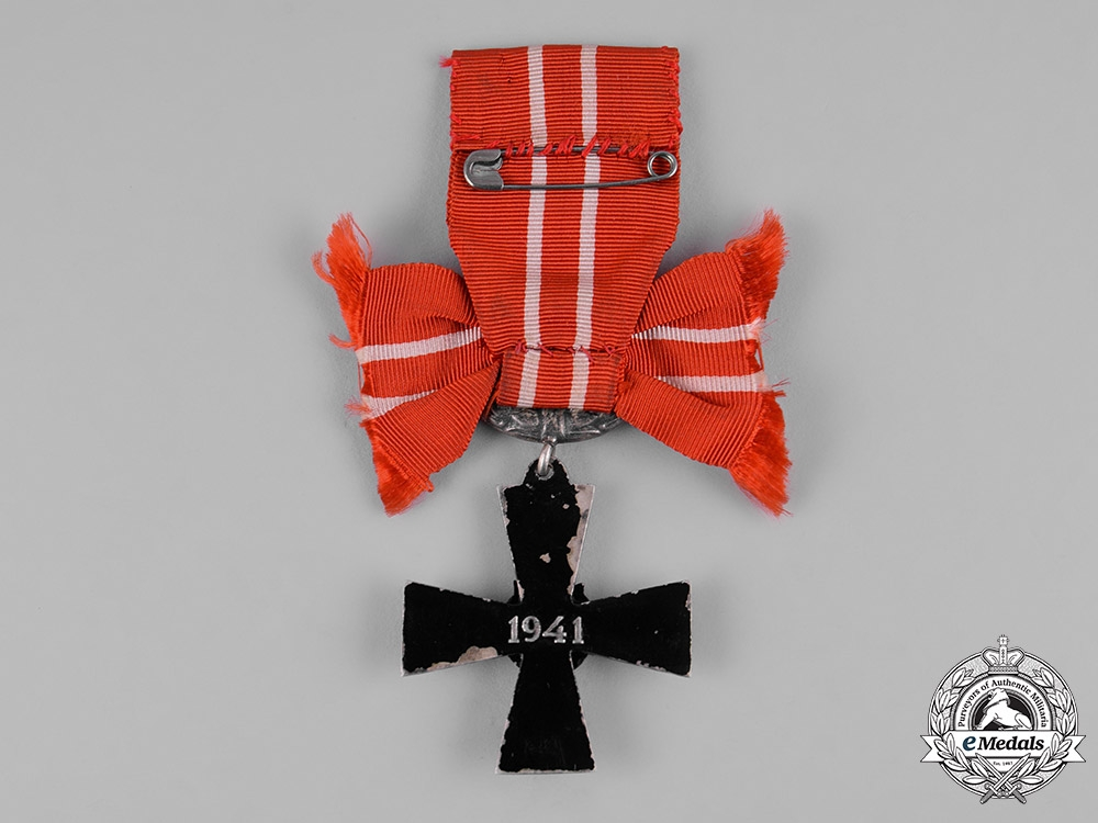 Finland, Republic. An Order of the Cross of Liberty, IV Class, Military Division