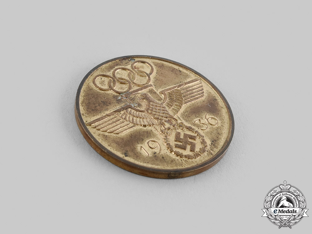 Germany, Third Reich. A German Olympic Decoration Medallion