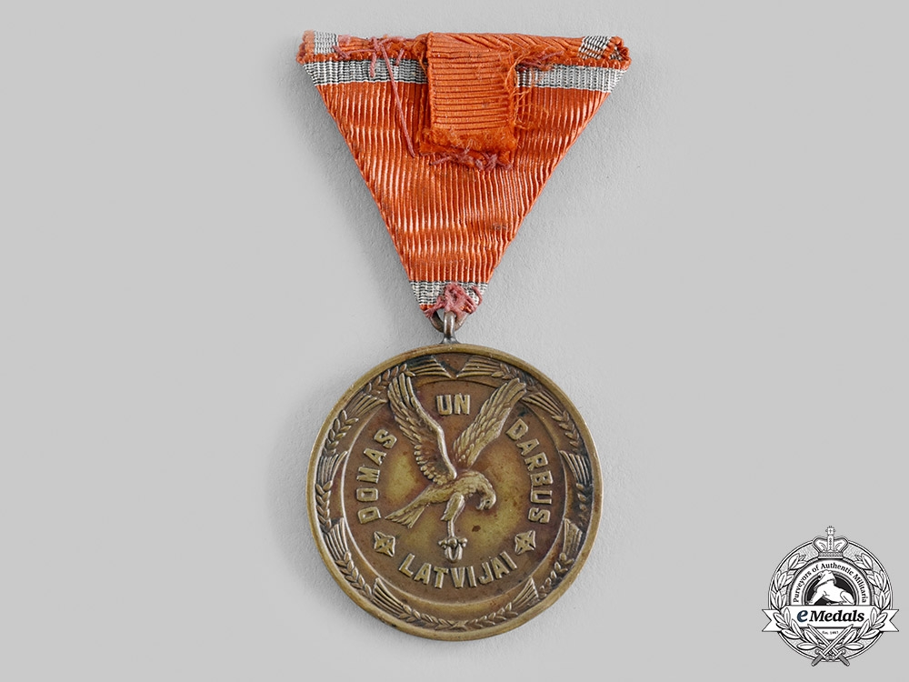 Latvia, Republic. A Cross of Recognition, III Class Bronze Grade Medal, c.1940