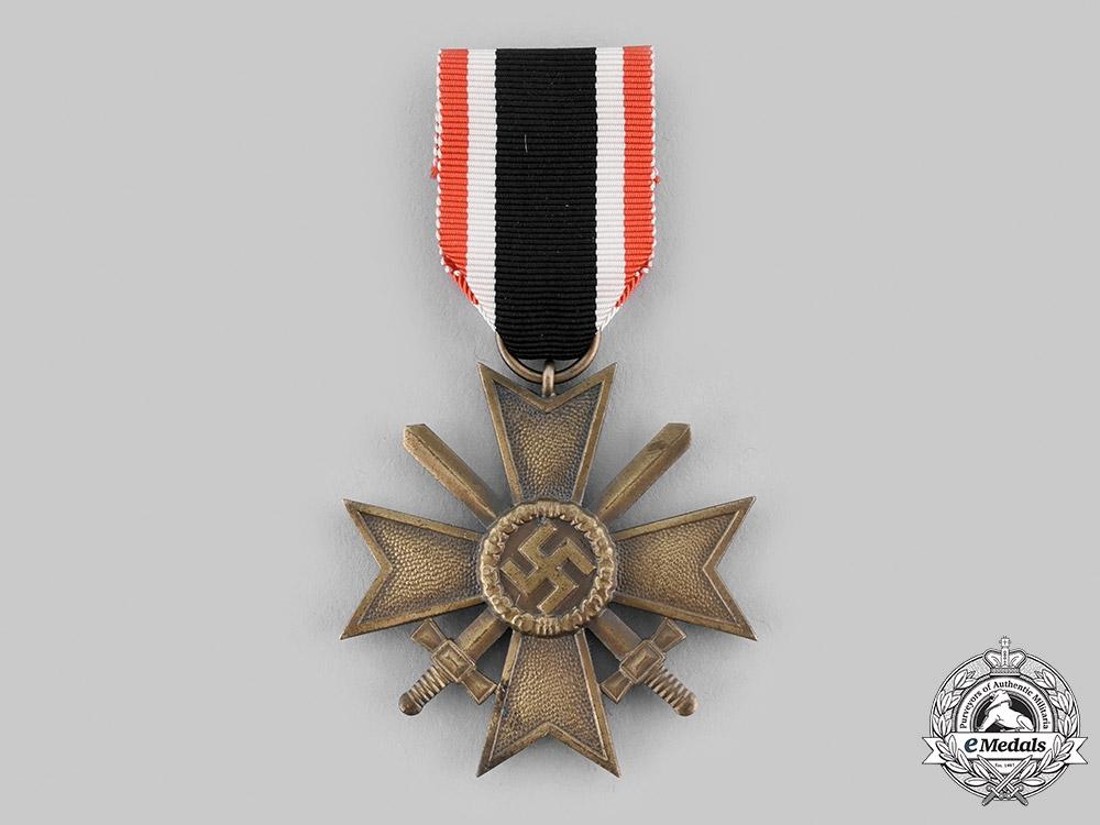 Germany, Wehrmacht. A War Merit Cross, II Class with Swords, by Fritz Zimmermann