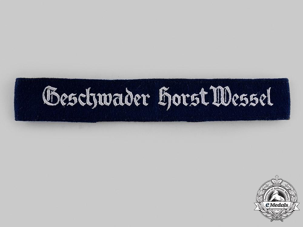 Germany, Luftwaffe. A Geschwader Horst Wessel Cuff Title