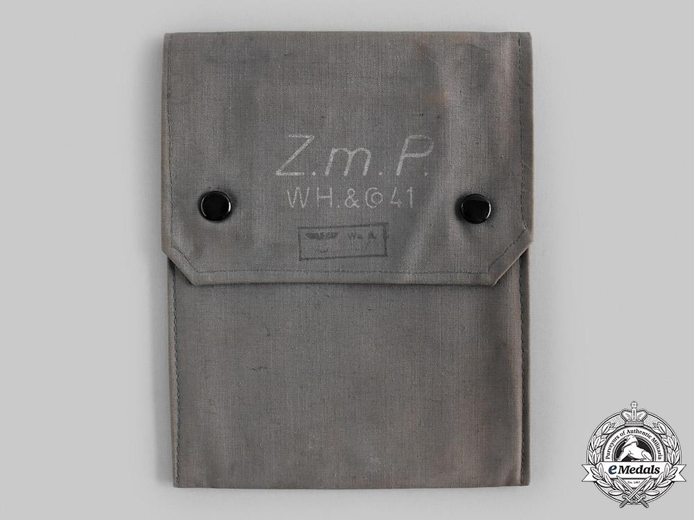 Germany, Wehrmacht. A Zielgevierttafel, with Case, by W. Hallwachs & Co