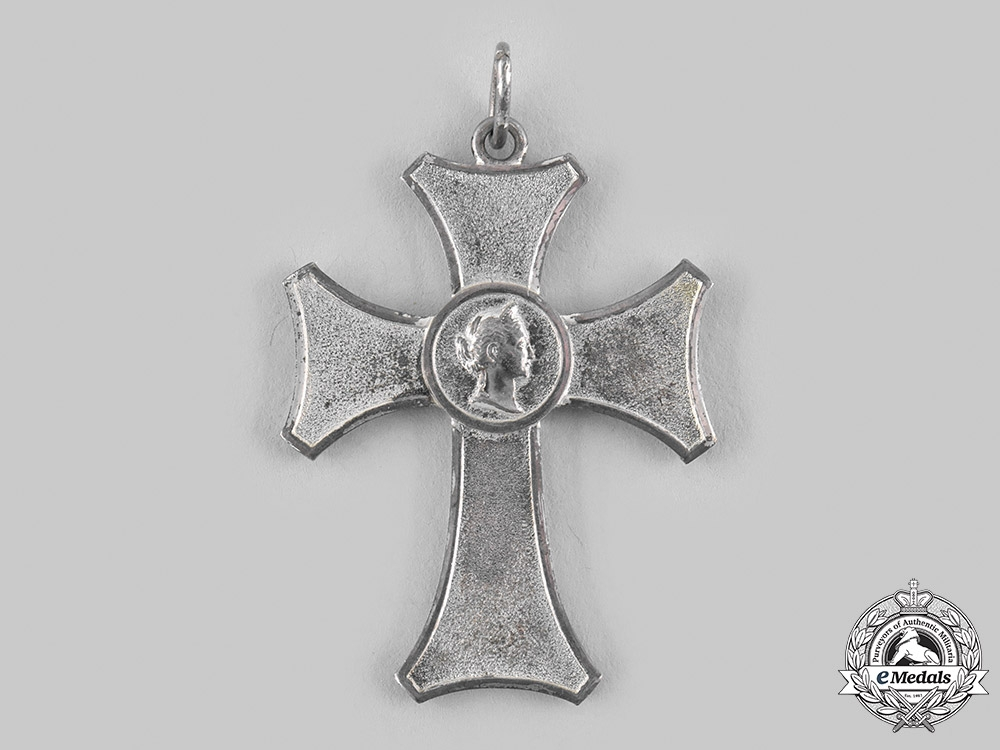 Württemberg, Kingdom. A Female Domestic Service Cross