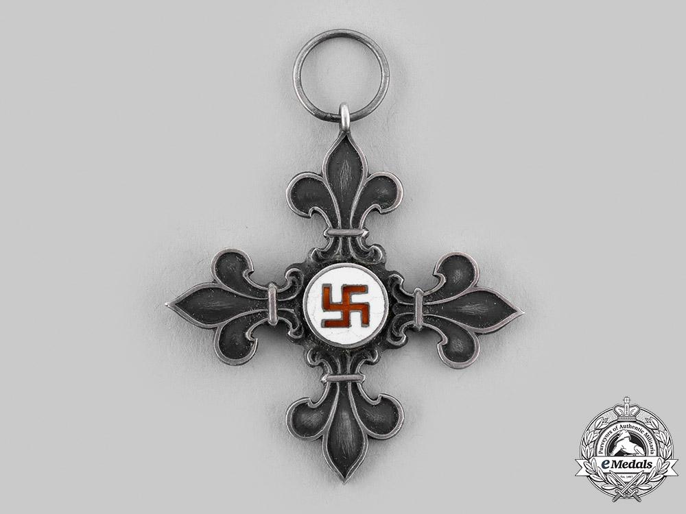 Latvia, Republic. A Boy Scout Cross c.1935