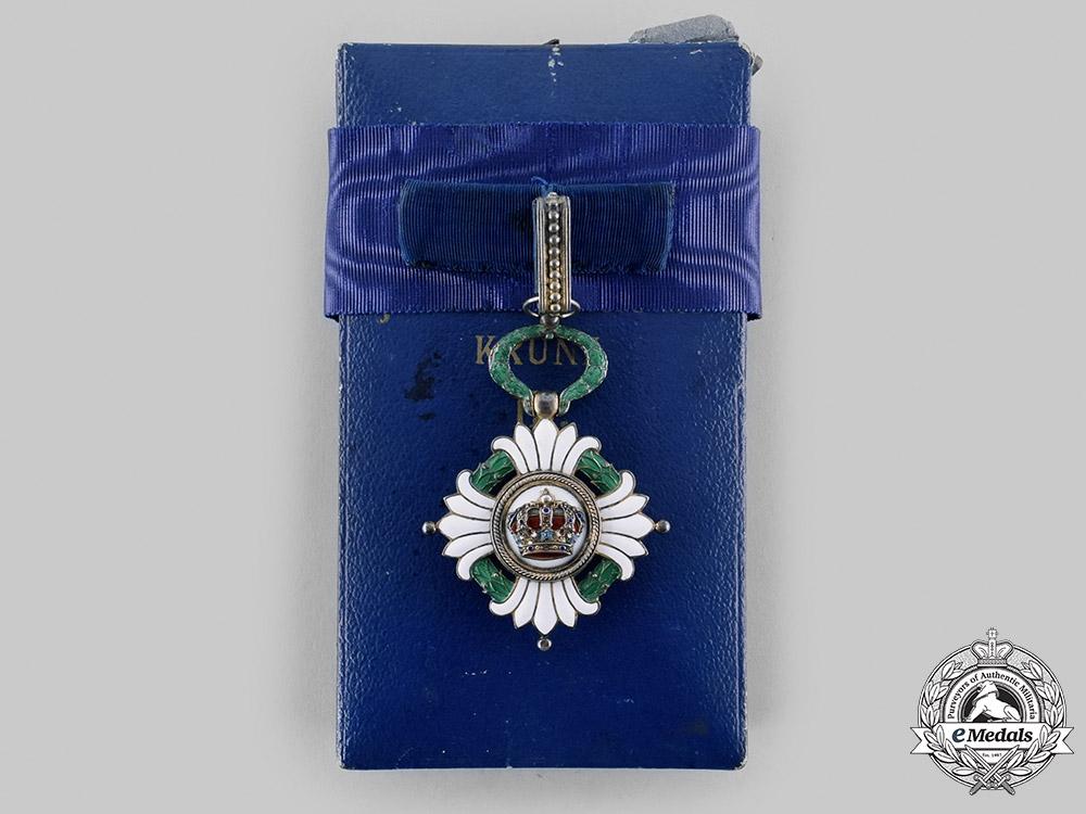 Yugoslavia, Kingdom. An Order of the Yugoslav Crown, III Commander, c.1940
