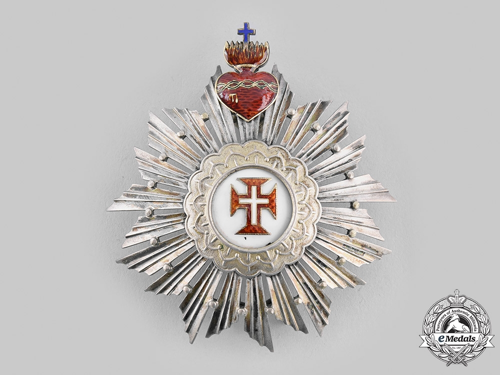 Portugal, Kingdom. A Military Order of Christ, Grand Officer, by Frederico Da Costa, c.1910