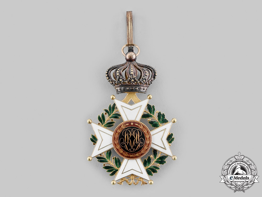 Belgium, Kingdom. An Order of Leopold in Gold, Commander, by Wolfers, c.1880