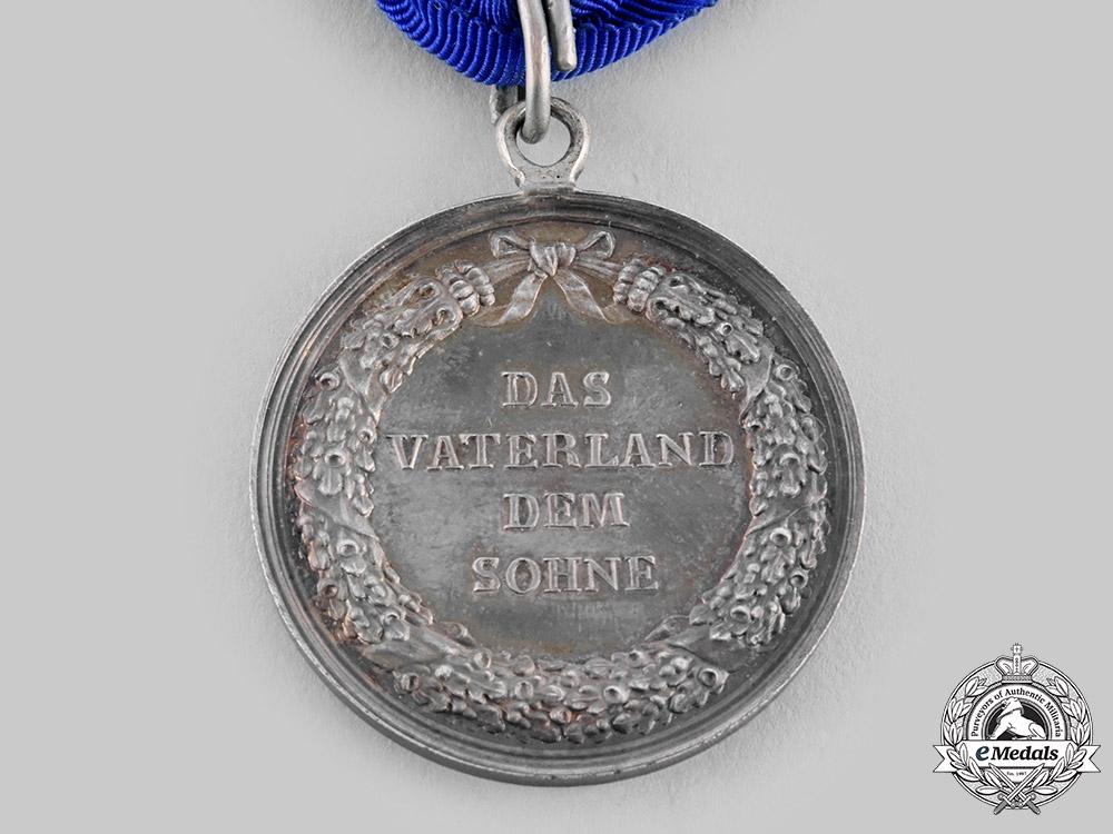 Oldenburg, Grand Duchy. A Rare Civil Merit Medal, Silver Grade, c.1814