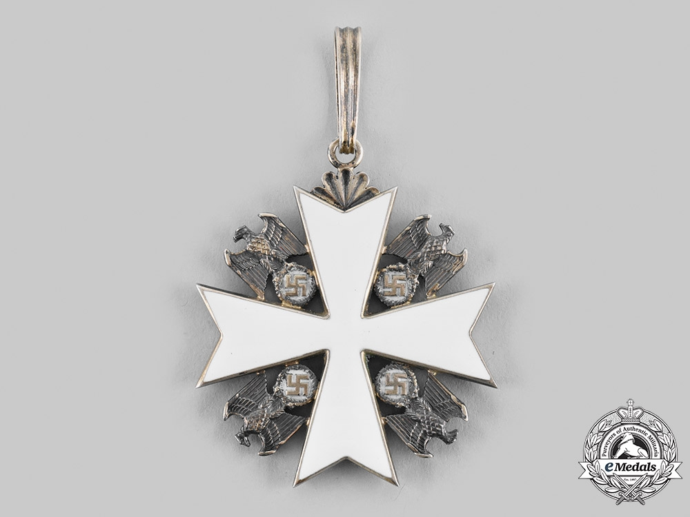 Croatia, Independent State. An Order of the German Eagle with Document to Ustasha Officer Nikola Rajkovic 1942
