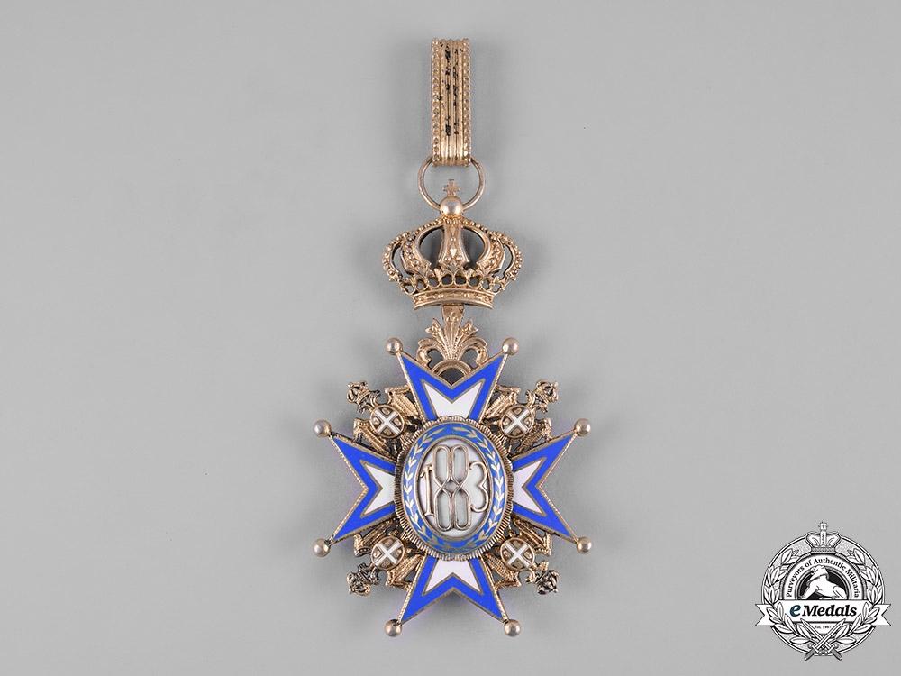 Serbia, Kingdom. An Order of St. Sava, I Class Grand Cross, c.1930