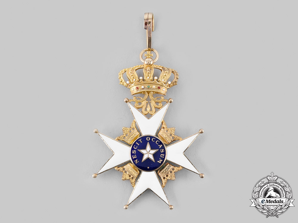 Sweden, Kingdom. An Order of the North Star, II Commander in Gold, c. 1900