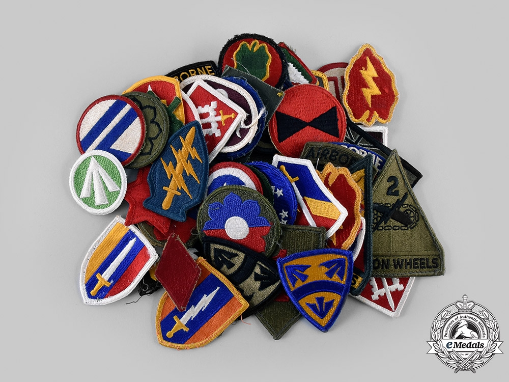 United States. A Lot of Fifty-Three Division Insignia Patches