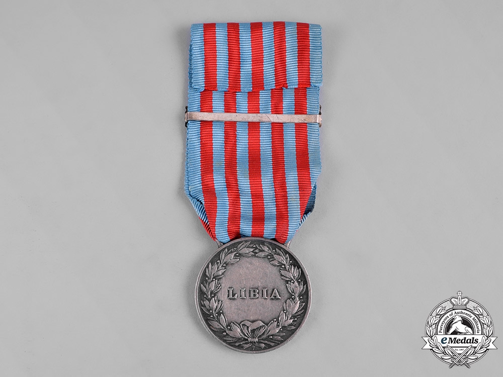 Italy, Kingdom. A Medal for the Libyan Campaigns with 1918-19 Clasp