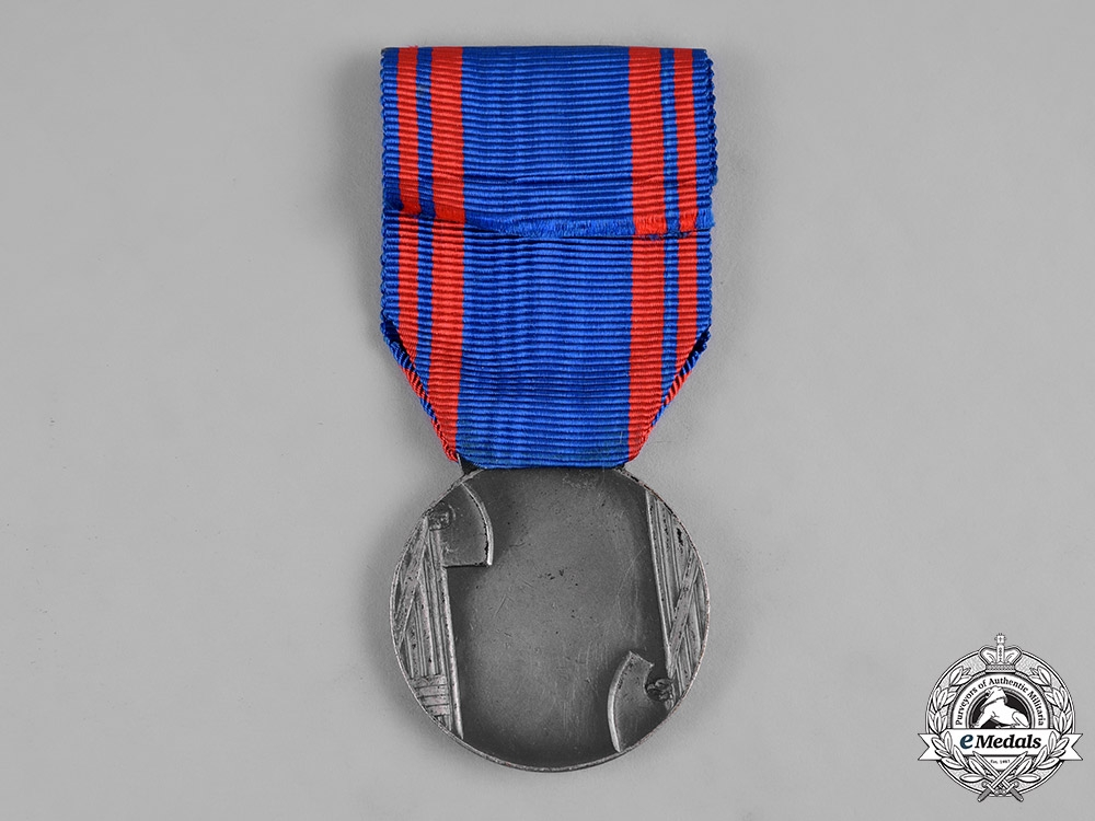 Italy, Kingdom. A Medal for Aeronautic Valour, II Class, Silver Grade