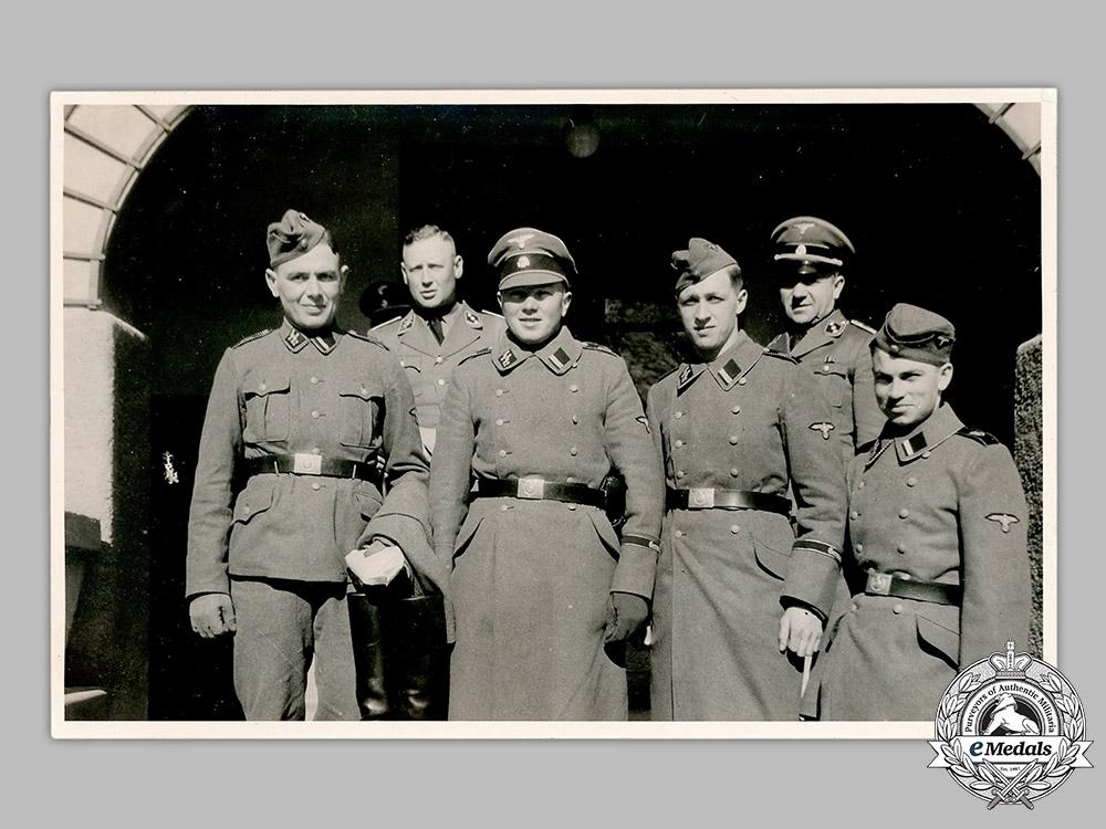 Germany, SS. A Photograph of SS-Verfügungstruppe Personnel
