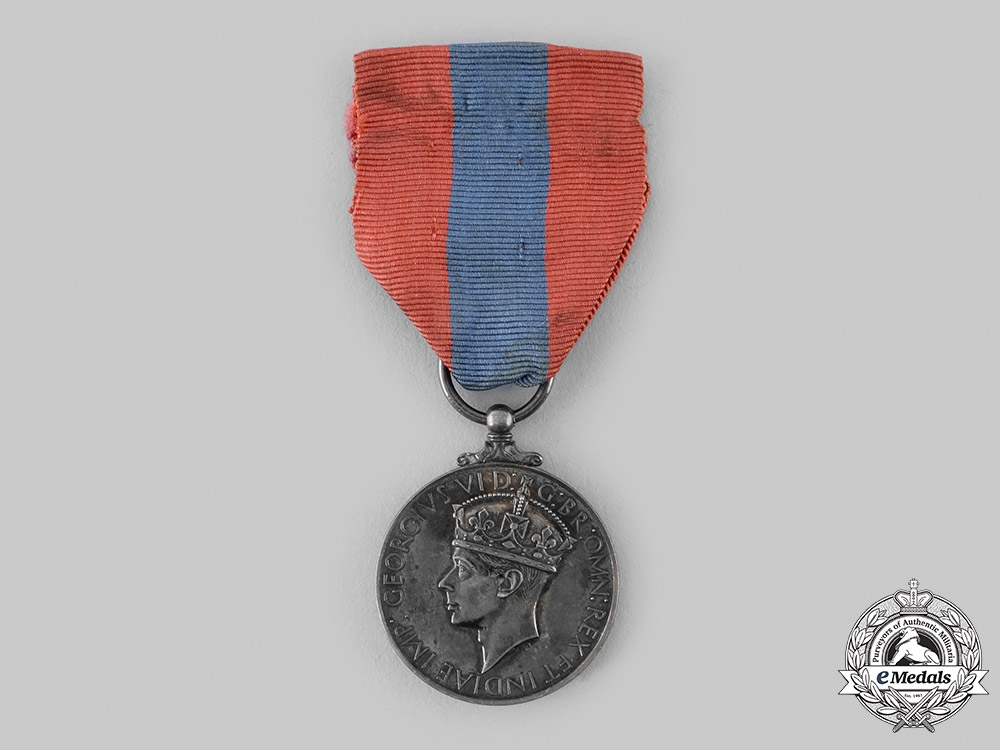 United Kingdom. An Imperial Service Medal, to Charles Thomas Cowell