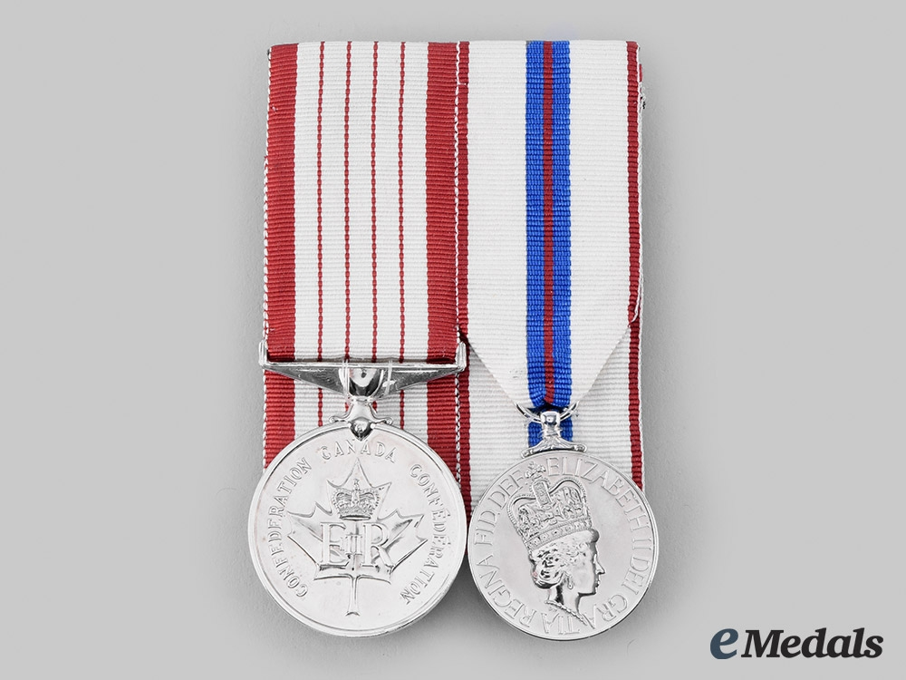 Canada, Commonwealth. A Medal Pair