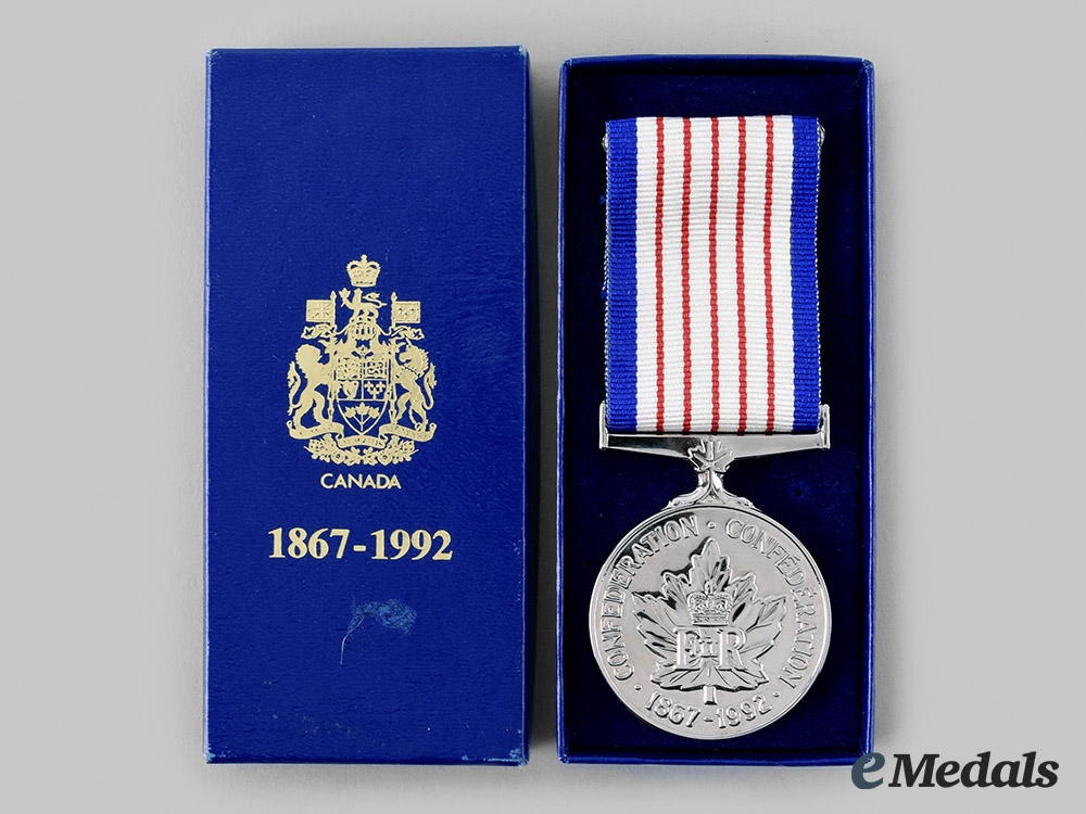 Canada, Commonwealth. A 125th Anniversary of Confederation Medal 1867-1992