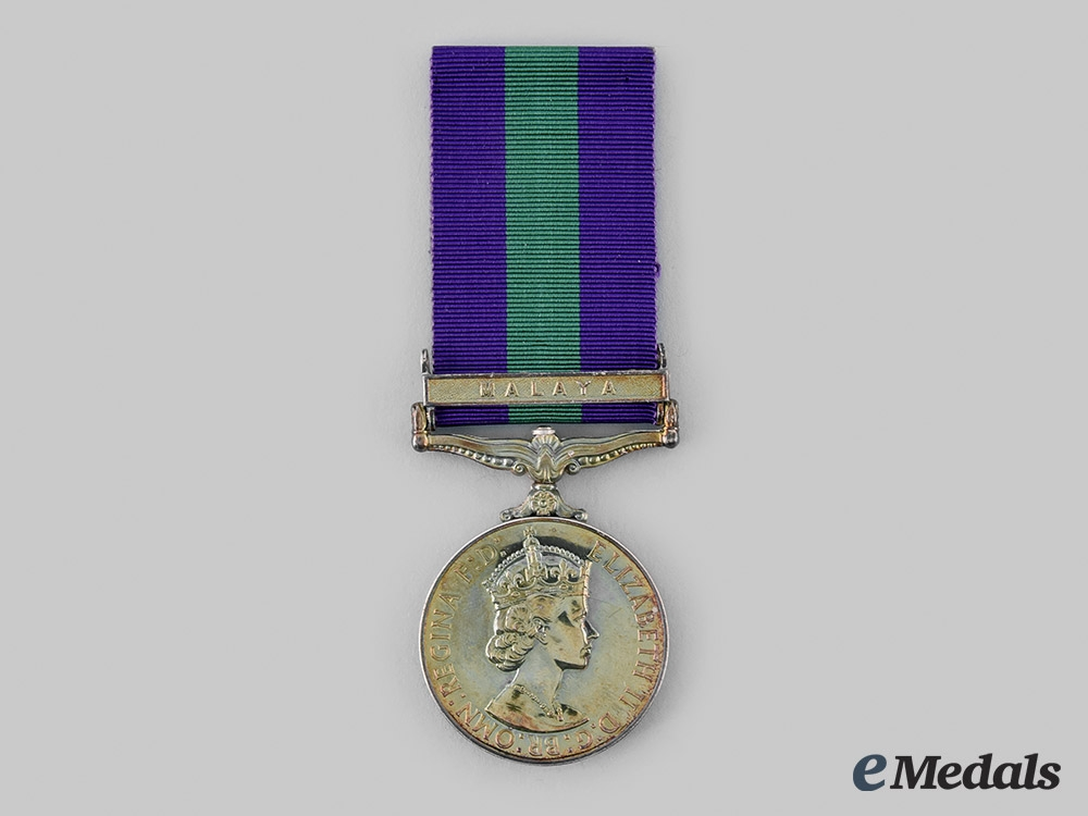 United Kingdom. A General Service Medal 1918-1962, to Aircraftman First Class R. McKenzie, Royal Air Force