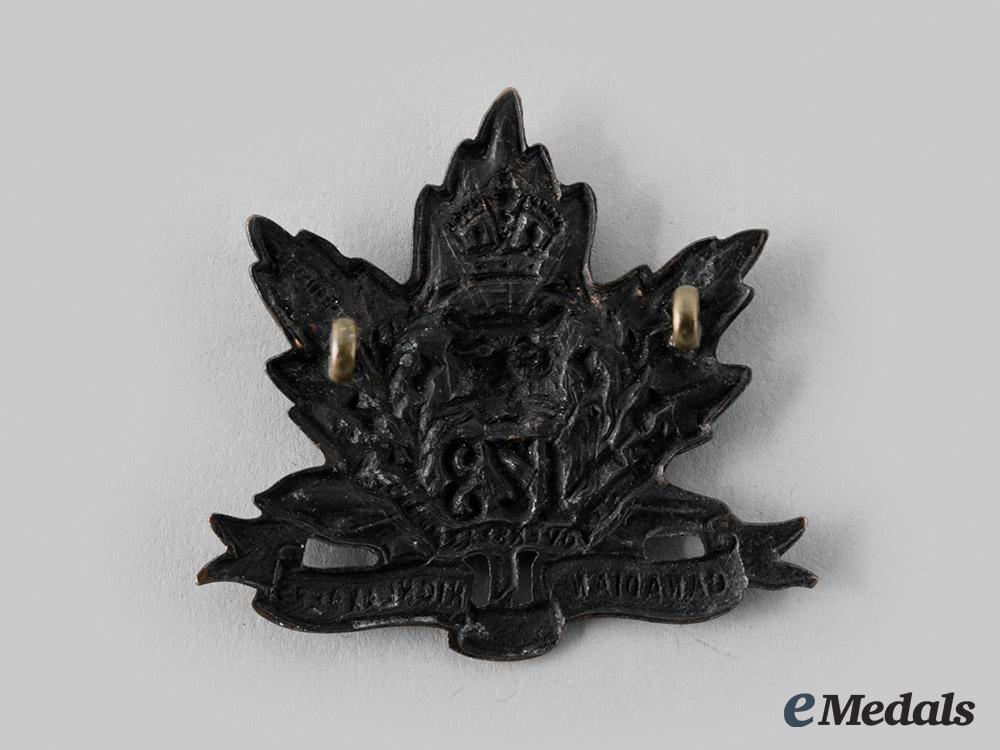 "Canada, CEF. A 173rd Infantry Battalion ""Canadian Highlanders"" Cap Badge, by Geo. Lees, c.1915"
