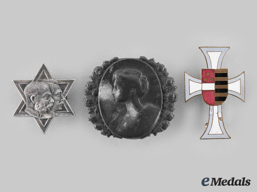 Austria, Imperial. A Lot of Badges