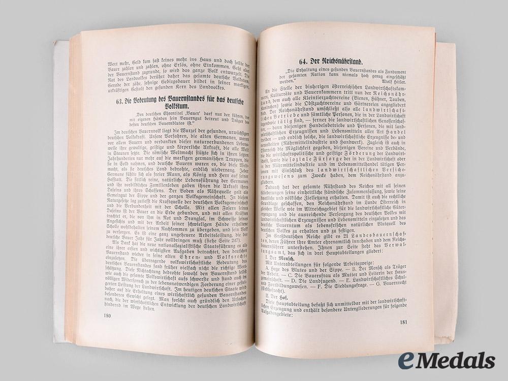 "Germany, Third Reich. A 1939 Edition of ""Die Gründung des Großdeutschen Reiches"", from the Library of SS-Obergruppenführer Arthur Seyss-Inquart"