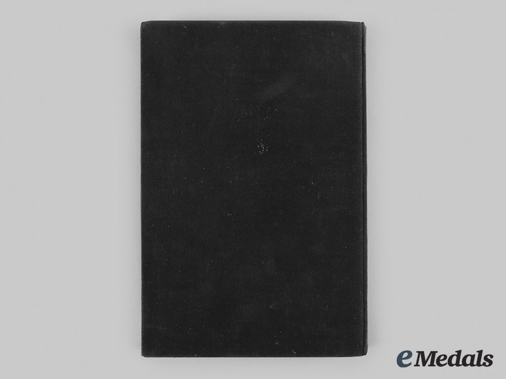 """Germany, NSDAP. A 1929 Edition of """"Das Buch Isidor"""", from the Library of SS-Obergruppenführer Arthur Seyss-Inquart"""