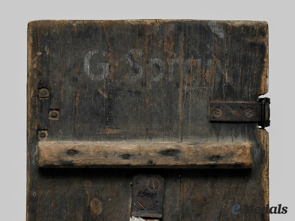 Germany, NSDAP. An Ammo Box Belonging to Arthur Seyß-Inquart