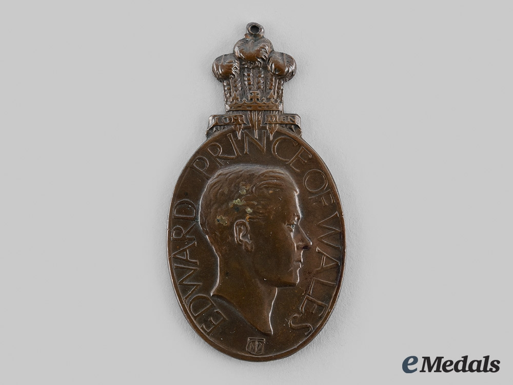 United Kingdom. A Medal for the Visit of the Prince of Wales to Bombay 1921