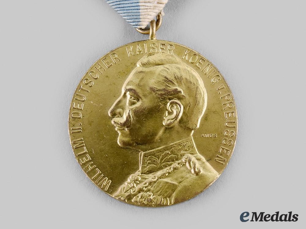 Prussia, Kingdom. A Regimental Centennial Medal for the 1st Electoral Hessian Field Artillery Regiment No. 11